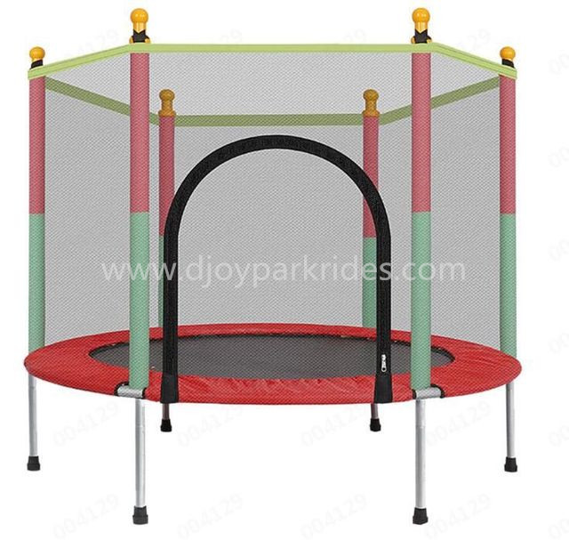 DJ-RP01 Outdoor Round Jumping Bed With Protect Nets