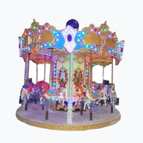 DJCR09 Antique carousel 12seats