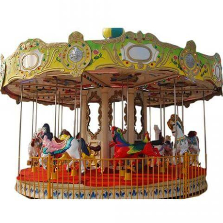 DJCR02 Outdoor Carousel 16 Seats
