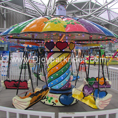 DJFR17 12 Persons Colorful Flying Chair