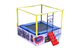 DJBTR01 1 kid indoor trampoline bed