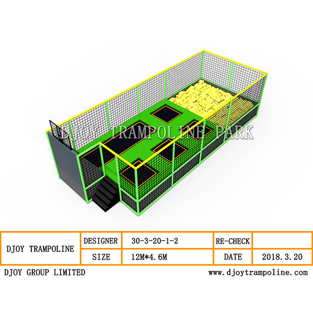 DJ-TP23 Kids Mini Trampoline