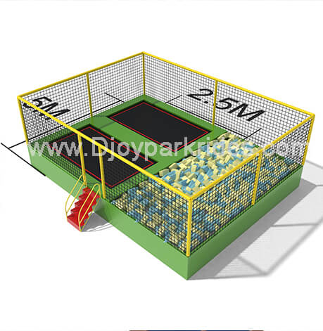 DJ-TP03 Children Trampoline with Foam Pit