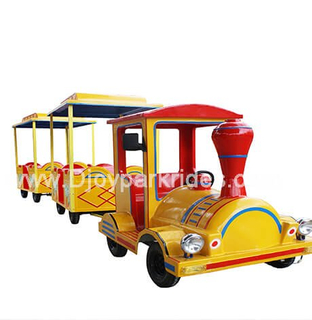 DJTT25 10 Seats Electric Trackless Train
