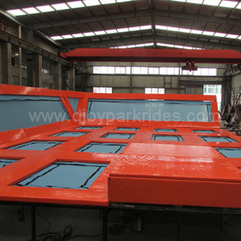 Giant trampoline has been shipped for Mexican customer!